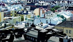 The roofs over the Design District in Helsinki. Picture: Design District Helsinki/Timo Junttila