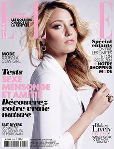 Blake Lively - ELLE Francia (Agosto 2013)