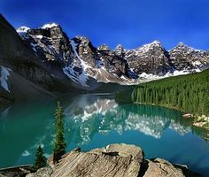 Lake Louise, Alberta, Canada - by Moraine Lake Lodge, went hiking here! So beautiful! Oh The Places You'll Go, Great Places, Places To Travel, Places To Visit, Beautiful Places, Beautiful Sites, Amazing Places, Alberta Canada, Banff Canada