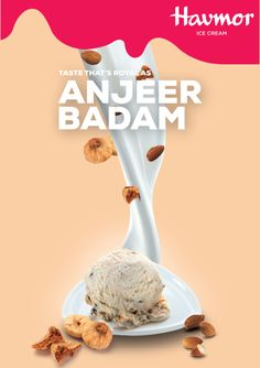 Taste the royalty in every bite of Anjeer Badam, our new Flavour  Of The Month.