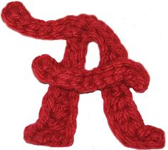 Alabama A Crochet Applique Pattern by BeckysPhotoprops on Etsy