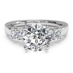 Ritani 18kt White Gold Engagement Ring