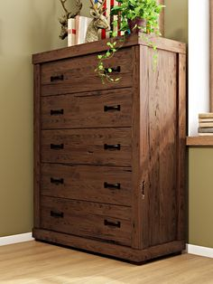 Genial Hilton 5 Drawer Chest