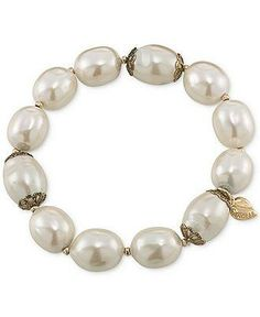 Classy never goes out of style, Carolee antique pearl bracelet