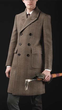 6182826a2 An intriguing coat by Ralph Lauren with an equestrian feel. Chesterfield  Coat