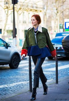 Our Favourite Street Style Star Is Back and Looking as Good as Ever via @WhoWhatWearUK