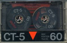 RAR!!! FOSTEX  CT-5  ,  Audiocassette!!