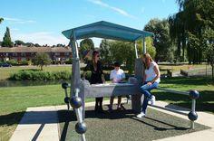 Aberford Park Outdoor DJ Booth - Case Study   Jupiter Play