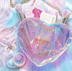 aesthetic, makeup, and pastel image Galaxy Wallpaper, Wallpaper Backgrounds, Crystal Aesthetic, Magical Jewelry, Kawaii Accessories, Fantasy Jewelry, Cute Jewelry, Pink Jewelry, Cute Wallpapers