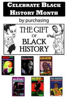 It's Black History Month, Pinners! Celebrate by purchasing our recently launched book package for Black History! http://www.forbeginnersbooks.com/giftofblackhistory.html