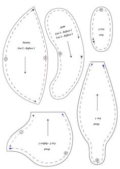 Free cloth ted... Teddy Bear Outline For Sewing Recycled teddy bear pattern 2