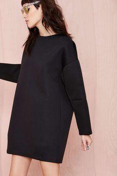 BLQ Basiq Olivia Scuba Dress