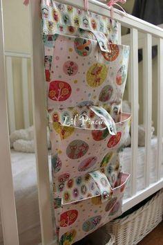 Vide-poches - compartiments à soufflets et pattes boutonnées