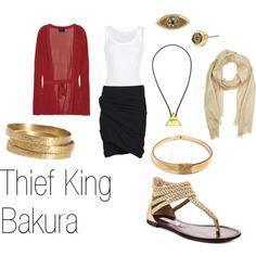 Thief King Bakura casual cosplay- Yu-Gi-Oh!