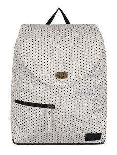 fec71b6117 Perfect for summer this lightweight backpack from Vans is covered in tiny  black stars and features