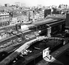 Pictures Of London In 1967 by Libby Hall - Flashbak Vintage London, Old London, North London, East London, London Pictures, London Photos, London History, Local History, British Rail