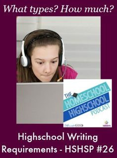 Join Sabrina, Vicki and Kym for a fun discussion of the 4 genres of high school writing requirements and ideas for knowing when you hit the correct amount of writing for your teen.