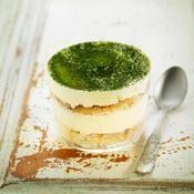 Tiramisu au thé vert - une recette Verrine - Cuisine