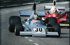 Mónaco - Wilson Fittipaldi & Clay Regazzoni