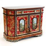 MacKenzie-Childs - Bombay Chest and Hand Painted Cabinets from MacKenzie-Childs