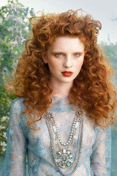 long natural red hair tumblrby Aneta Kowalczyk  red  hair  curly  curls Naturally Curly 0M8S5aC3