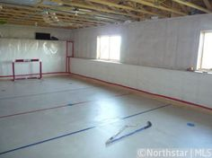 Would be an indoor soccer/hockey field