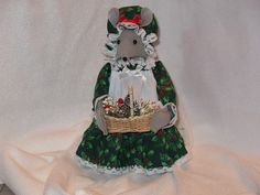 Christmas Air Freshener Mouse by JosieeDesigns on Etsy, $20.00