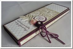 The Craft Spa - Stampin' Up! UK independent demonstrator : Another Something Borrowed Tri Fold Mini Album