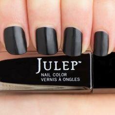 Cleopatra - Black latex crème -latex finish.  Get your first box free!  ($45 value) http://www.julep.com/rewardsref/index/refer/id/313807/