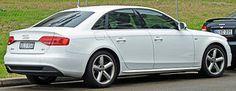 Audi A4 (B8) sedan
