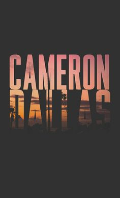 Cameron Dallas Lockscreen