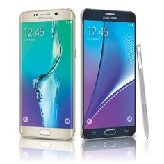 The newest #Samsung phablets are finally here—check out the fabulous Galaxy Note 5 and S6 Edge Plus specs!