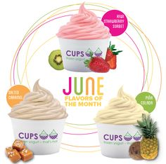 June Flavors of the Month