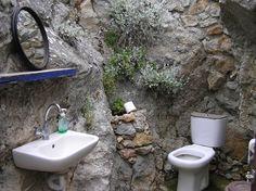 Greek Island Kos Wc Toilet Rustic Simply