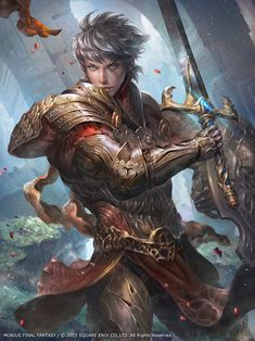 cyrail:  Mobius Final Fantasy – Siegfried by Dopaprime  Featured on Cyrail: Inspiring artworks that make your day better