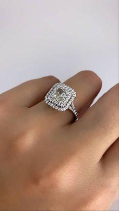 Radiant Cut Engagement Rings, Split Shank Engagement Rings, Cushion Cut Engagement Ring, Dream Engagement Rings, Princess Cut Engagement Rings, Cushion Diamond Ring, Cushion Halo, Princess Cut Halo Ring, Mom Ring
