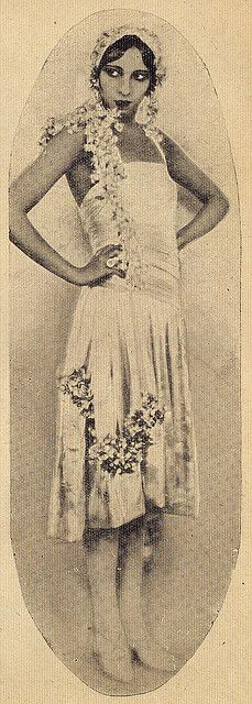 Josephine Baker | Ilustração Magazine Fashion Spread by Black History Album, via Flickr