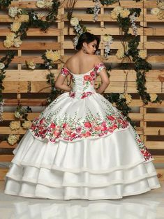 149874a41a Guide for ball gown quinceanera dresses  Don t have oodles of makeup in your