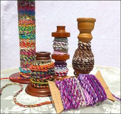 Fabric_Twine_Photo. So colorful. Great eye candy!