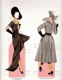 Classic Fashions of CHRISTIAN DIOR by TOM TIERNEY 16 of 17
