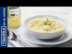 Calamares en salsa con patatas. Un #guiso fácil y rico.