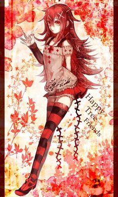 Htf Anime, Chica Anime Manga, Kawaii Anime, Anime Art, Blue Exorcist, Female Characters, Anime Characters, Happy Tree Friends Flippy, Ichigo Y Rukia