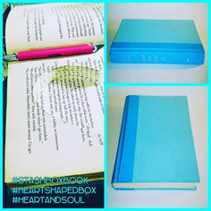 @stashboxbook #StashBoxBook #Stashbox #Heartandsoul #HeartShapedbox #Handcrafted   Email us today at info@StashBoxBook.com
