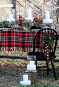 The Modern Sophisticate: Dreamin' of a Red Christmas