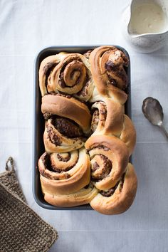 everything is going to be all right gooey chocolate pull apart rolls by heather hands, flourishing foodie