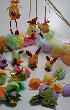 Ostereier Bastelset mit 36 bunten Eiern, vielen Filzteilen, Band und Zubehör Hobby Welt kreativ Bastelset http://www.amazon.de/dp/B00TBLNYBQ/ref=cm_sw_r_pi_dp_Uuyavb0KKREVP