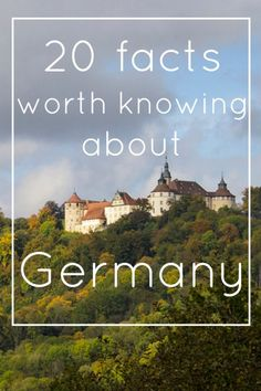 20 facts about Germany