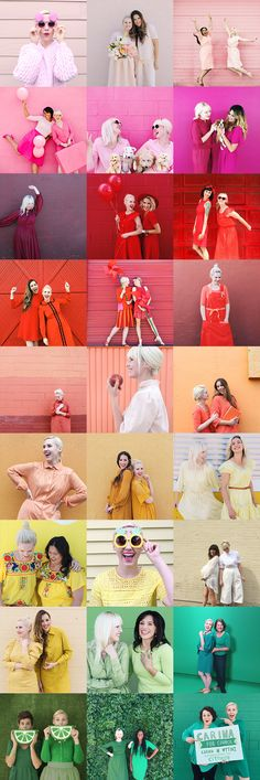Dress the Rainbow | House that Lars built | colorful fashion | Instagram | Rainbow fashion