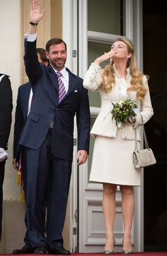 Luxembourg royal wedding: Guillaume and Stephanie celebrate their official union