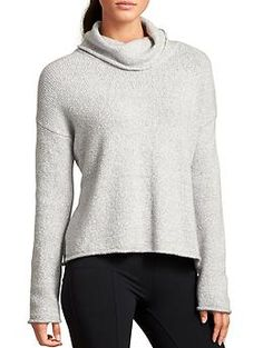 Brindle Funnel Sweater | Athleta
